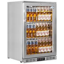 interlevin pd10h ss back bar fridge stainless steel glass door 142 litre kelly rac