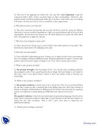 interview questions effective business communication lecture handout this is only a preview