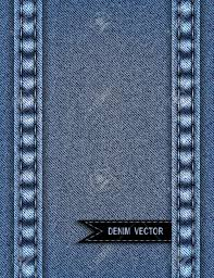 Illustration Of Abstract Background From Blue Denim Texture With