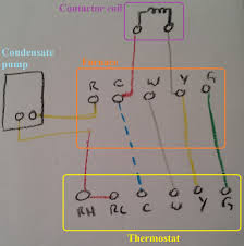 hvac help installing new thermostat home improvement stack Honeywell Lyric T5 Thermostat Wiring Diagram hvac control wiring Wall Mount Honeywell Lyric T5