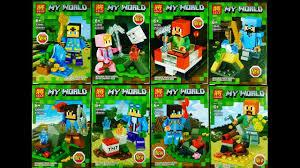 <b>LEGO Minecraft My World</b> Minifigures (knock-off) LELE 33046 ...