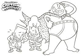 Captain Underpants Coloring Pages Inspirational Free Printable Of