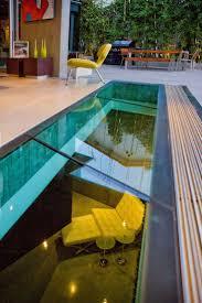 basement pool glass. Modren Basement Basement Pool Glass Shiny Swimming House Design With Rectangle Shape  Combined White Wooden Terrace Intended Basement Pool Glass