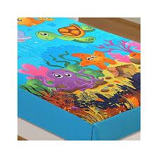 marine kids single bed sheet digitally printed kids bed sheet