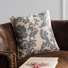 slate blue pillows. Contemporary Slate Shop Safavieh Acanthus Leaves 18inch Ivory Slate Blue Decorative Pillows  Set Of 2  On Sale Free Shipping Today Overstockcom 7110218 Throughout I