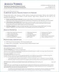 Esl Teacher Resume Sample Substitute Teacher Resume Example Examples