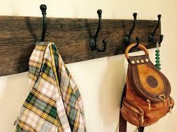 Distressed Wood Coat Rack Reclaimed Barn Wood Coat Rack 47