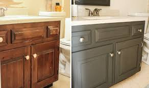bathroom cabinet lighting. bathroom vanity before and after paint job cabinet lighting r