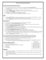 Certifications A Resume Certification Resume Example Where Do You