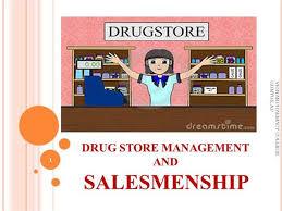 Organizational Chart Of A Drugstore Drug Store Salemenship Authorstream