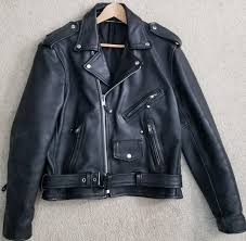 fmc first manufacturing company fillmore classic leather motorcycle jacket