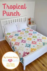 378 best Moda Bake Shop images on Pinterest | Quilting tutorials ... & Tropical Punch Quilt Â« Moda Bake Shop Adamdwight.com