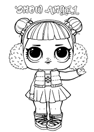 We have a large collection of various lol surprise dolls for your little ones. Lol Surprise Dolls Coloring Pages Print Them For Free All The Series