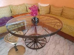table en fer للبيع في مكناس في آخر | Avito.ma