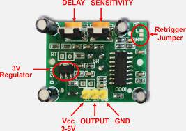 tweaking4all com testing and playing with pir sensors (motion is312 pir at Honeywell Pir Sensor Wiring Diagram