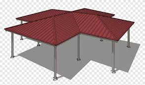 hip roof gable roof patio building
