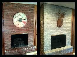 painting a brick fireplace can you paint a brick fireplace painting a brick fireplace image can