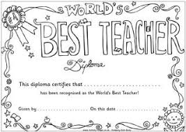 Teacher Appreciation Colouring Pages