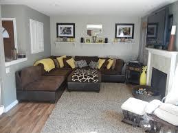 brown living room. Yellow Gray And Brown Living Room Militariartcom R