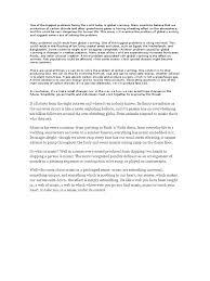 essay global warming greenhouse effect