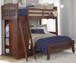 Image Badcock Ne Kids Locker Loft Bed Twin Over Full Bunk Bed With Wardrobe Kids Bedroom Furniture Ekidsroomscom Twin Over Full Locker Loft Bunk Bed 9060 And 8060 Walnut Street