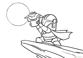 Baby yoda free coloring pages from the tv series «mandalorian» which takes place in the star wars universe. Baby Yoda Coloring Page 50 Best Pictures Free Printable