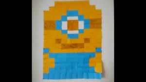 Minion Bedroom Decor Diy Room Decor Ii Sticky Note Wall Art Ii Minion Youtube
