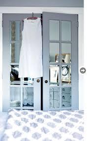 french mirrored doors