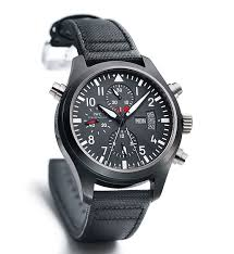 tough timers 10 watches for extreme conditions › watchtime iwc pilot s watch double chronograph