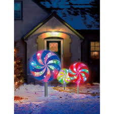 Synchro Lights Home Depot Illuminations 18 7 Ft Color Blast Remote Controlled Rgb Led Lollipop Pathway Marker 3 Pack