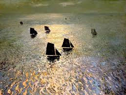 william frederic ritschel boats returning home