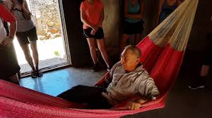 How to sleep and rest in a hammock! - YouTube