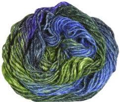 Noro Silk Garden Yarn 354 Yellow Green Blue