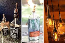 Whiskey Bottle Decoration Ideas