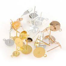 tjp 10pcs gold colorful enamel eyes flowers connectors charms pendants for bracelets diy jewelry making findings 17x23mm