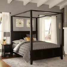 Canopy Bed Crown Molding Exquisite Twin Crown Canopy Bed With Printed Curtains And Molding