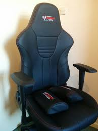 gt omega master xl racing office chair black leather esport gaming seat