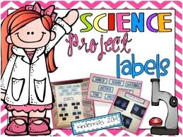 Science Fair Project Labels Printable Fun Science Lessons Free Printable Science Fair Project