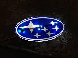 White LED Emblem