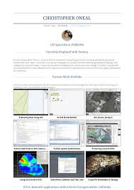 Gis Analyst Resume Sample Gis Specialist Resume Samples And Templates Visualcv