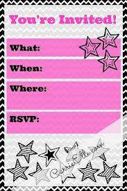 Free Printable Party Invitations Lots To Choose From In