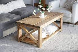 You need to build a plan and consider the height and length of the table, then use a smoothing tool to get the best result. Farmhouse Coffee Table Beginner Under 40 Ana White