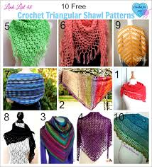 Free Shawl Crochet Patterns Interesting 48 Free Crochet Triangular Shawl Patterns Crochet For You