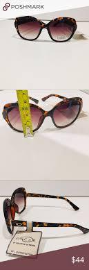 Dark To Light Sunglasses Oscar De La Renta Tortoise Sunglasses Square Cat Eye
