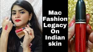 <b>Mac FASHION LEGACY</b> on Indian Skin | Review | Ria Das - YouTube