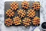blueberry buttermilk waffles