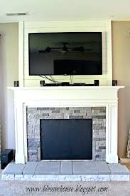 faux fireplace mantle mantels surround for