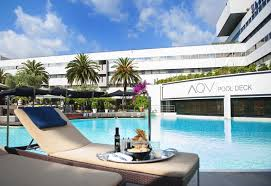 hotel outdoor pool. Aqvi-pool-at-sheraton-hotel Hotel Outdoor Pool