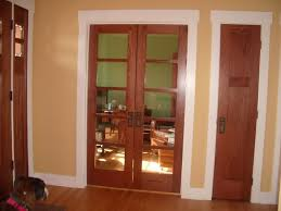 timber doors windows and white trim