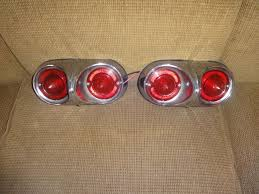 pair of chevy bel air biscayne impala tail lights gm pair of 1958 chevy bel air biscayne impala tail lights gm